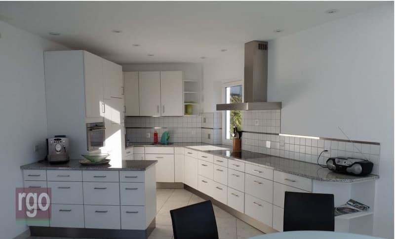 Küche mit modernster Ausbau