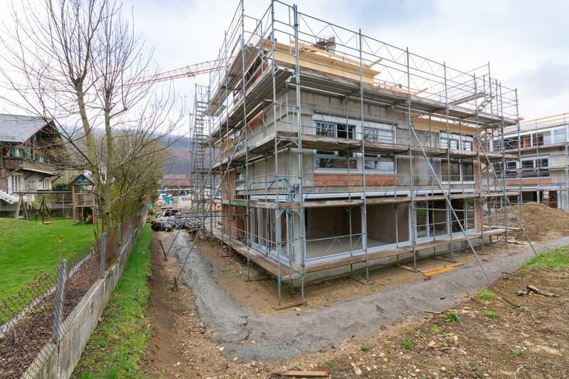 Postilliongässli Baufortschritt Haus 13+14