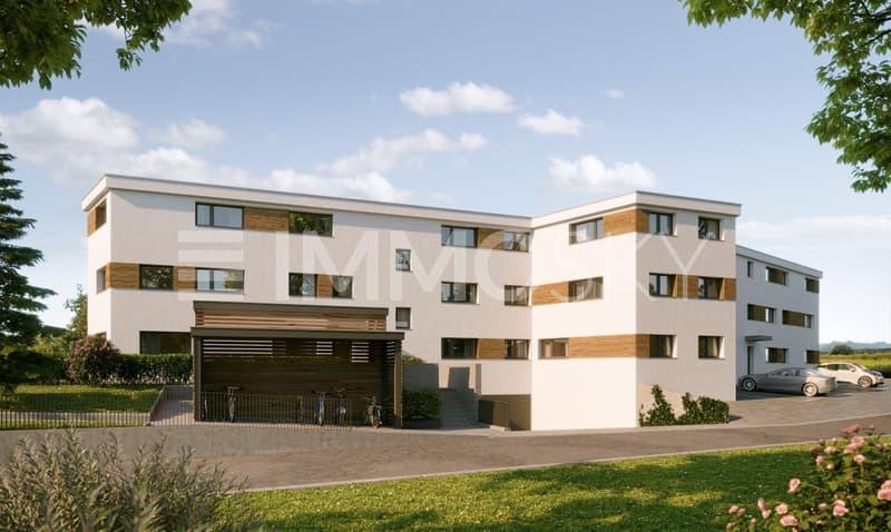 Neue Wohnanlage mit 15 Wohnungen