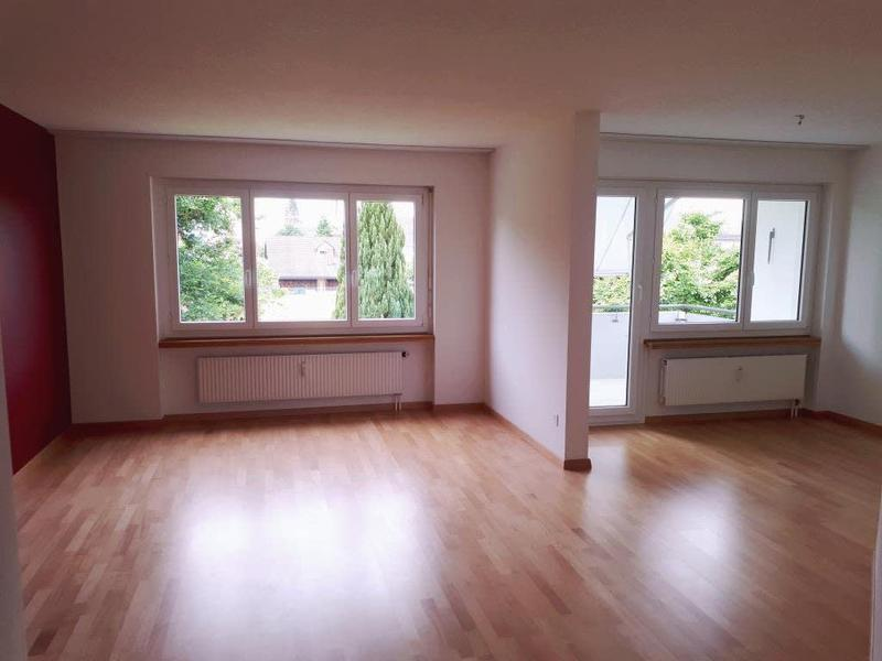 Wohnzimmer ohne rote Wand