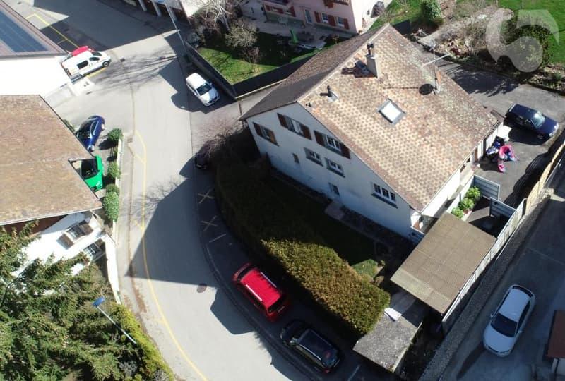 Maison : nouveau avec 1 place de parc côté route