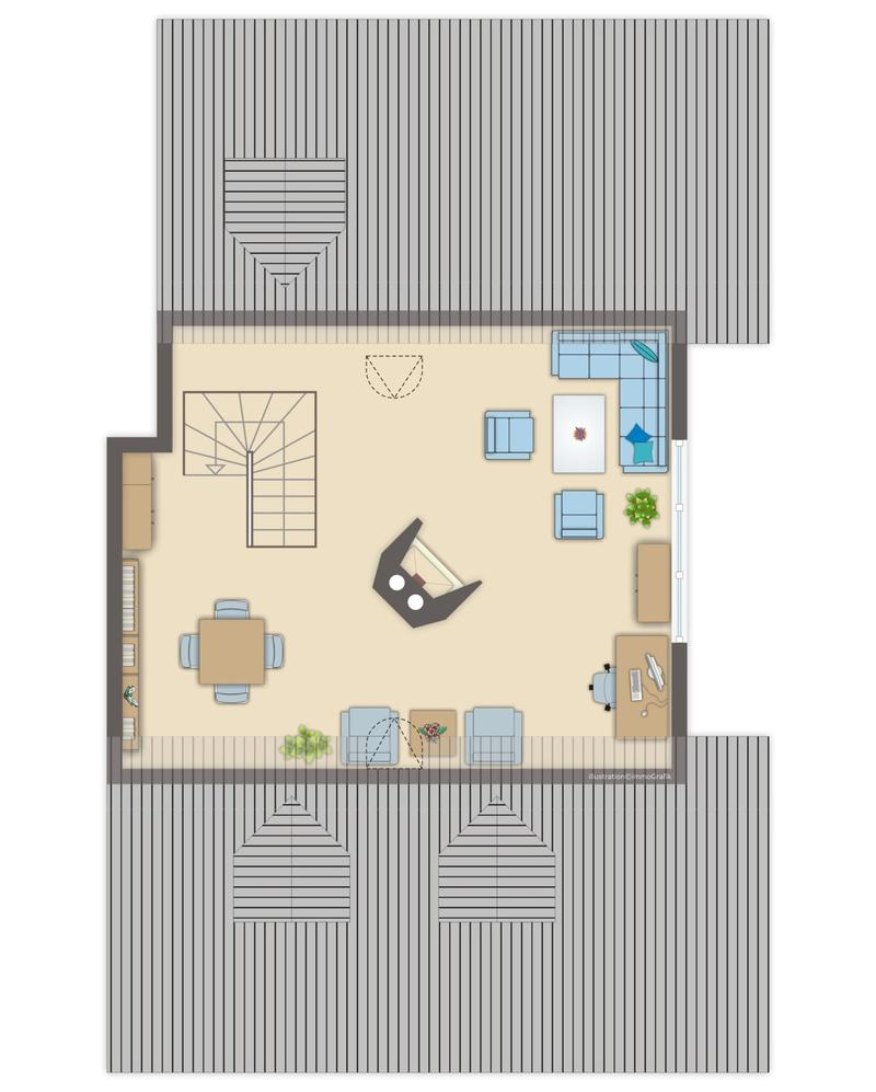Dachgeschoss II