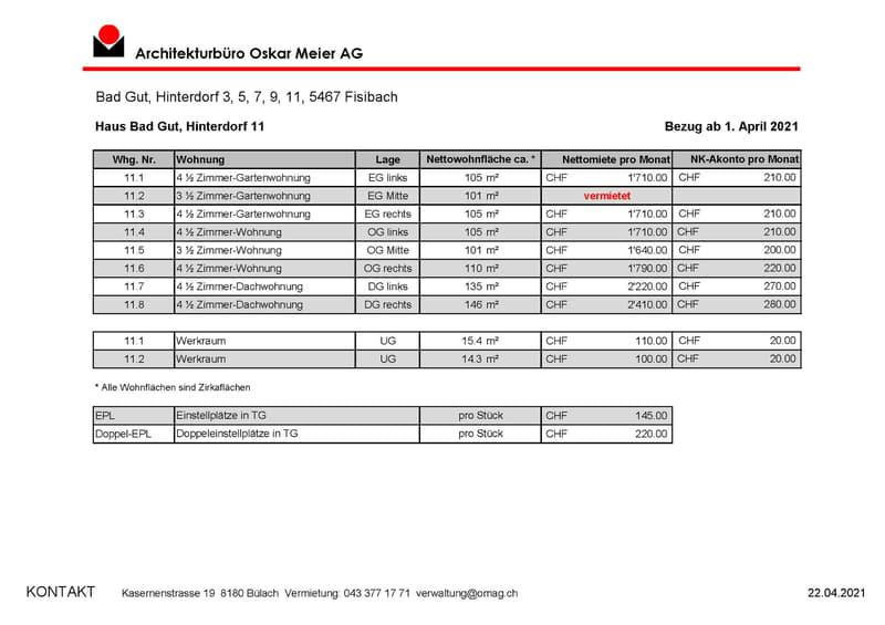 Mietpreislisten Bad Gut, Hinterdorf 3-11_11
