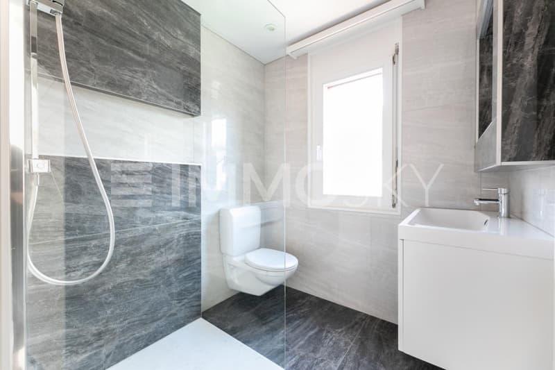Elternbad mit Dusche
