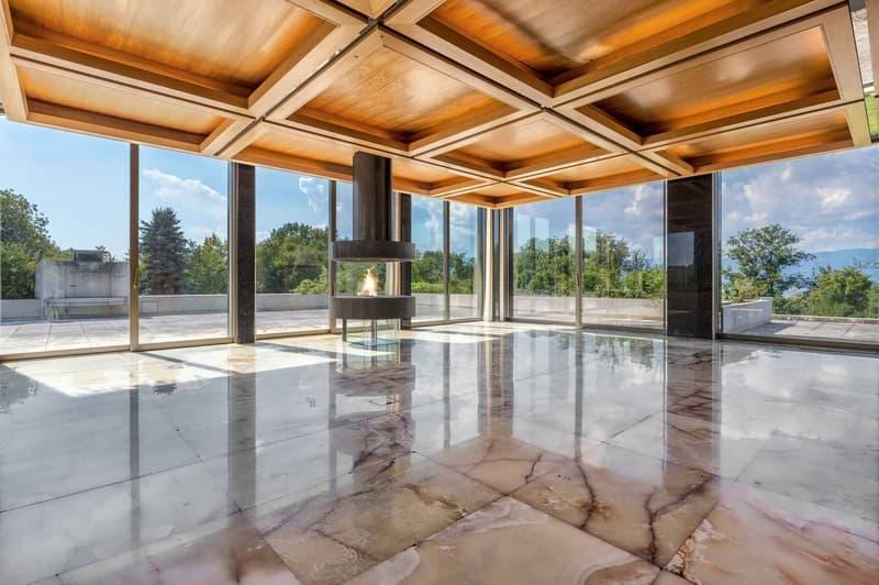 avec cheminée, dressing, salle d'eau et terrasse privative