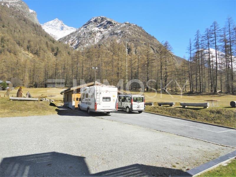 Parkplatz für Camper