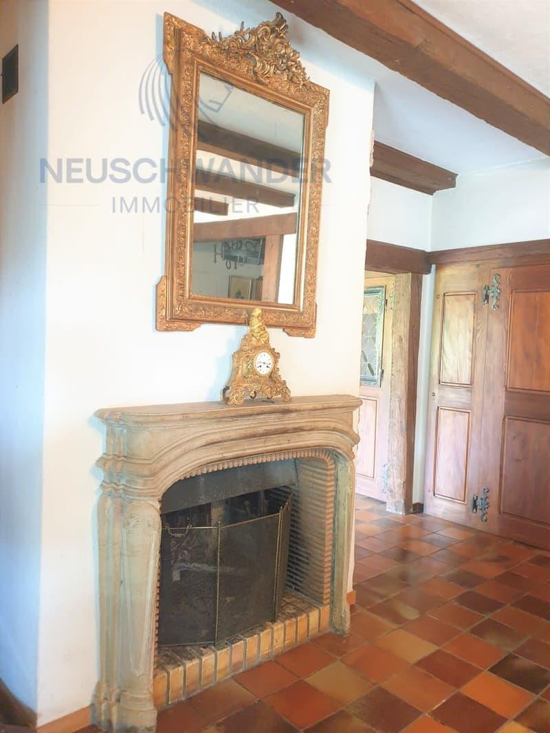 Cheminée séjour rez / Kamin Wohnzimmer Erdgeschoss / Fireplace living room ground floor