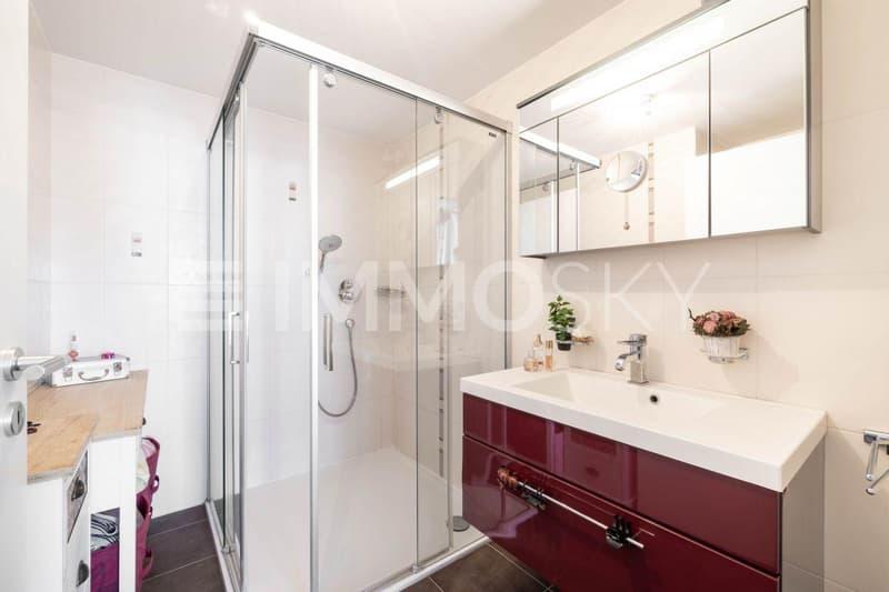 Spacieuse salle d'eau privative