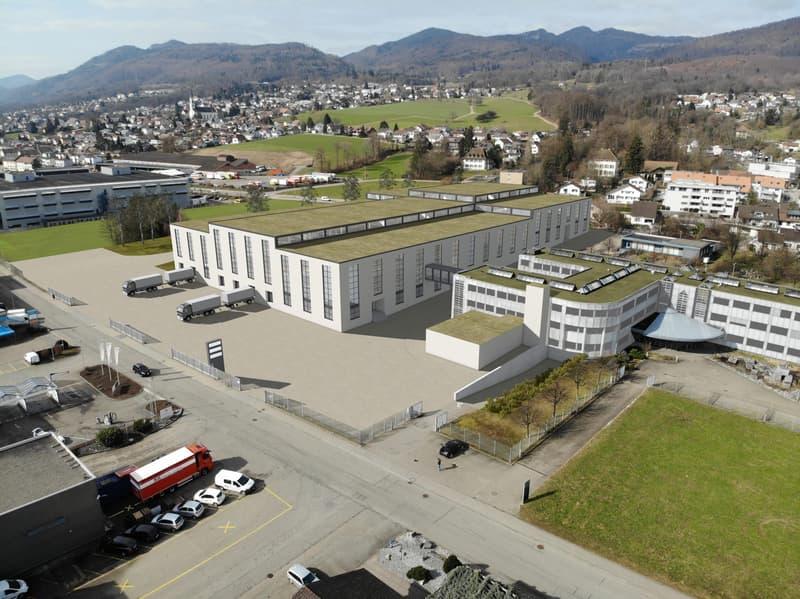 Rickenbach Gebäude mit neuer Rampe Kleinfahrzeuge