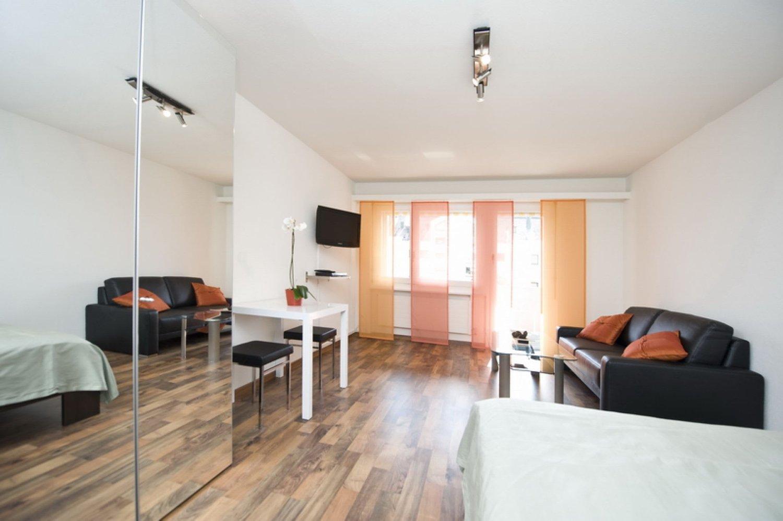 Special Offer - Möbliertes Apartement nähe Flughafen inkl. Wäschewechsel