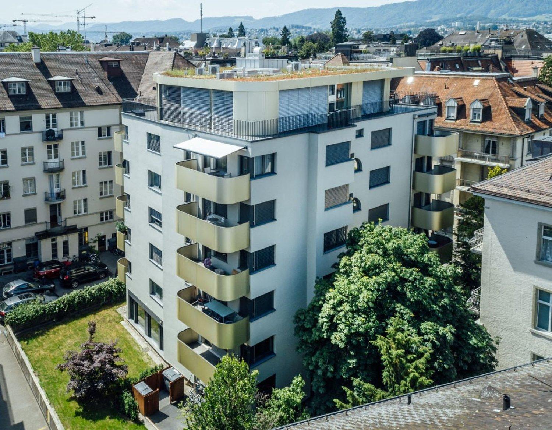 An bester Lage im Züricher Seefeldquartier