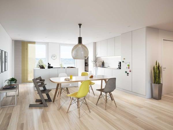 ... Visualisierung 4.5 Zimmer Wohnung, Speerstrasse Visualisierung ...