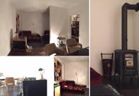 Elegant 3 1/2 Zimmer, 2 Balkone, Charmanter Holzofen