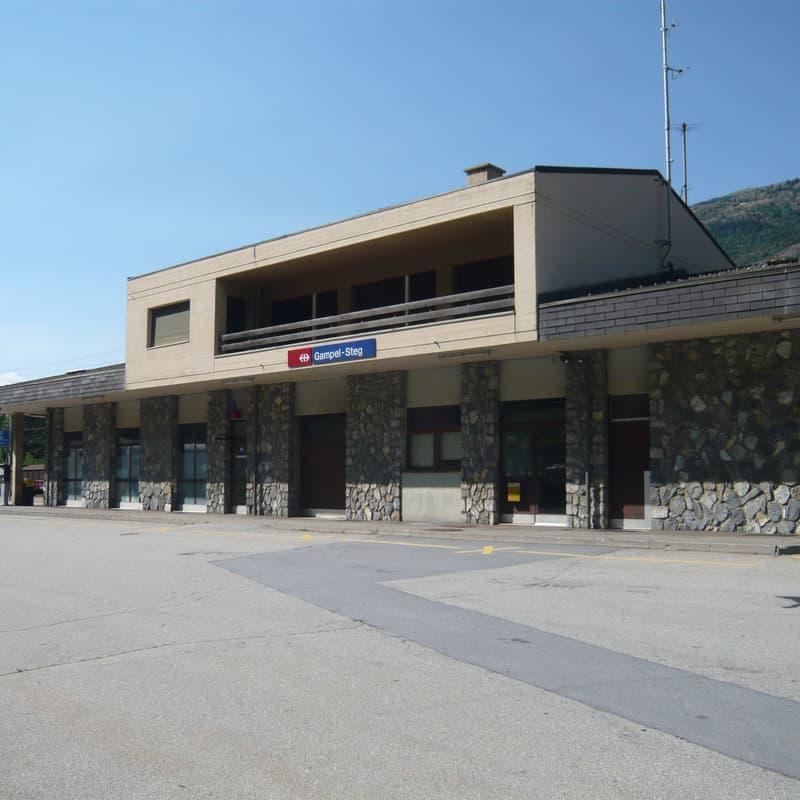 Bahnhof Gampel