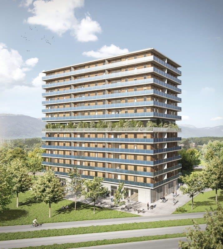 5 pièces neuf Ecoquartier des Vergers Meyrin