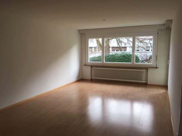 Miete: Helle Wohnung mit Gartensitzplatz in Luzern