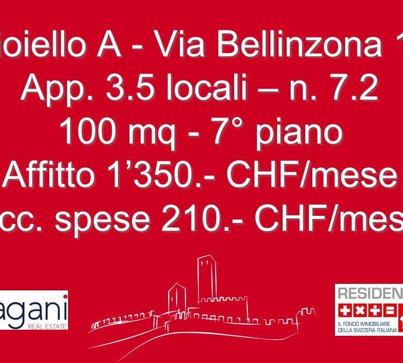via Bellinzona 8 - 10 / Via Poeta F. Chiesa