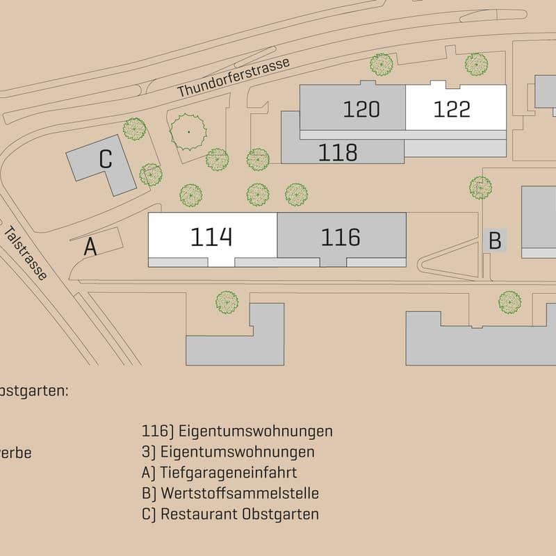 Thundorferstrasse 114 / 122