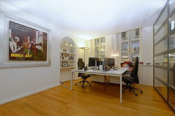 Bureau moderne de m en plein coeur de la city genève büro