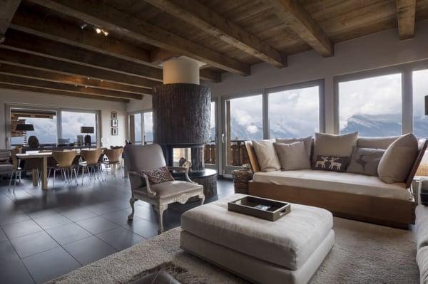 Magnifique chalet moderne de 5 chambres à Nendaz, Haute-Nendaz ...