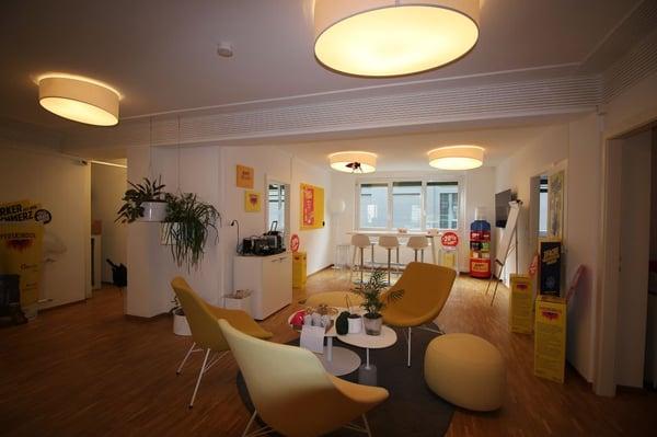 Bureau lumineux de 133 m2 proche des quais genève büro mieten