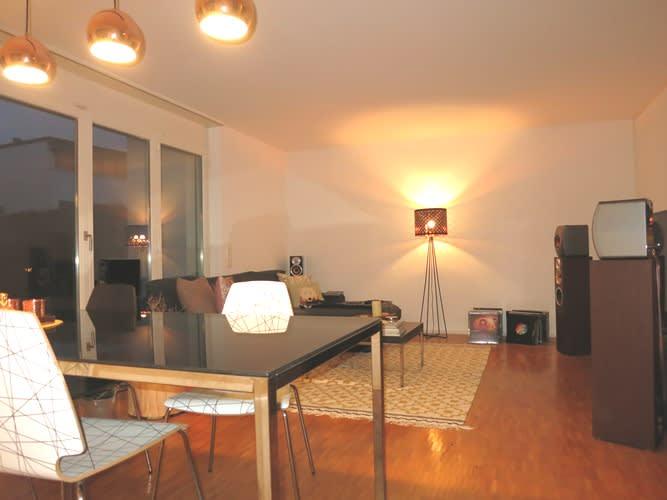 Miete: attraktive Wohnung mit ruhigem Gartensitzplatz