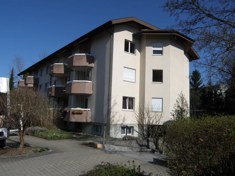 Miete: grosszügige Wohnung in ruhigen Wohnquartier