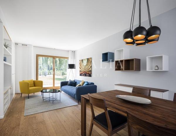 Magnifique appartement neuf meublé en rez de jardin, Genève ...