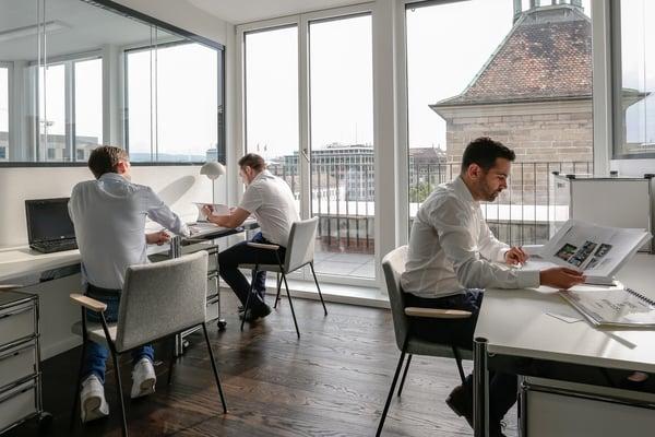 Nouveau: espace de coworking flexible à genève quai de lile genève