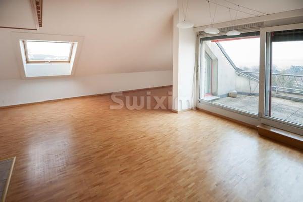 Comme un loft avec mezzanine et cheminée, Versoix | rent Apartment ...