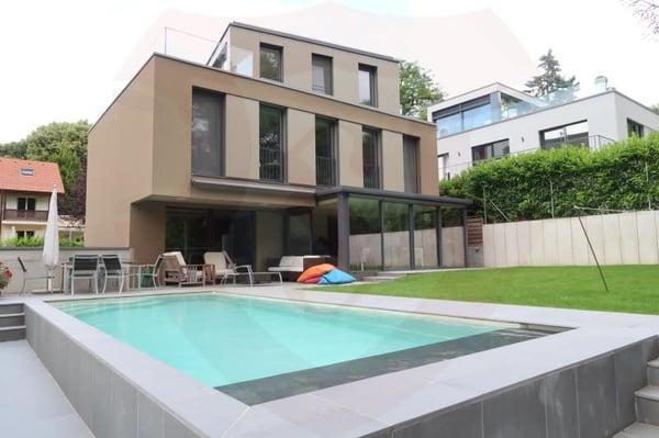 Récente Maison Contemporaine MINERGIE, Anières | Einfamilienhaus ...