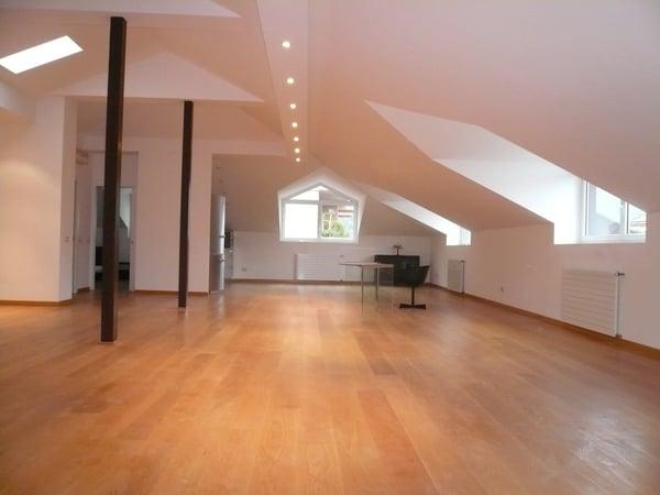 ATTICO centralissimo a Lugano IN VENDITA, moderno open space con ...