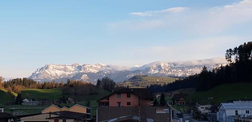 Aussicht in die Berge