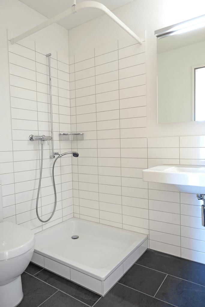 Dusche/WC (Musterwohnung)