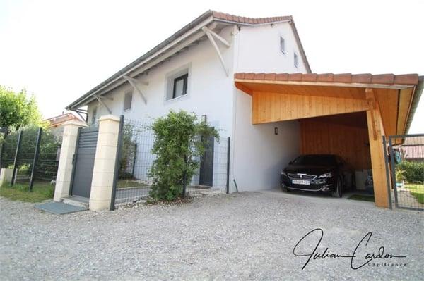 Dpt Haute Savoie (74), à vendre à SCIENTRIER maison moderne de 134 ...