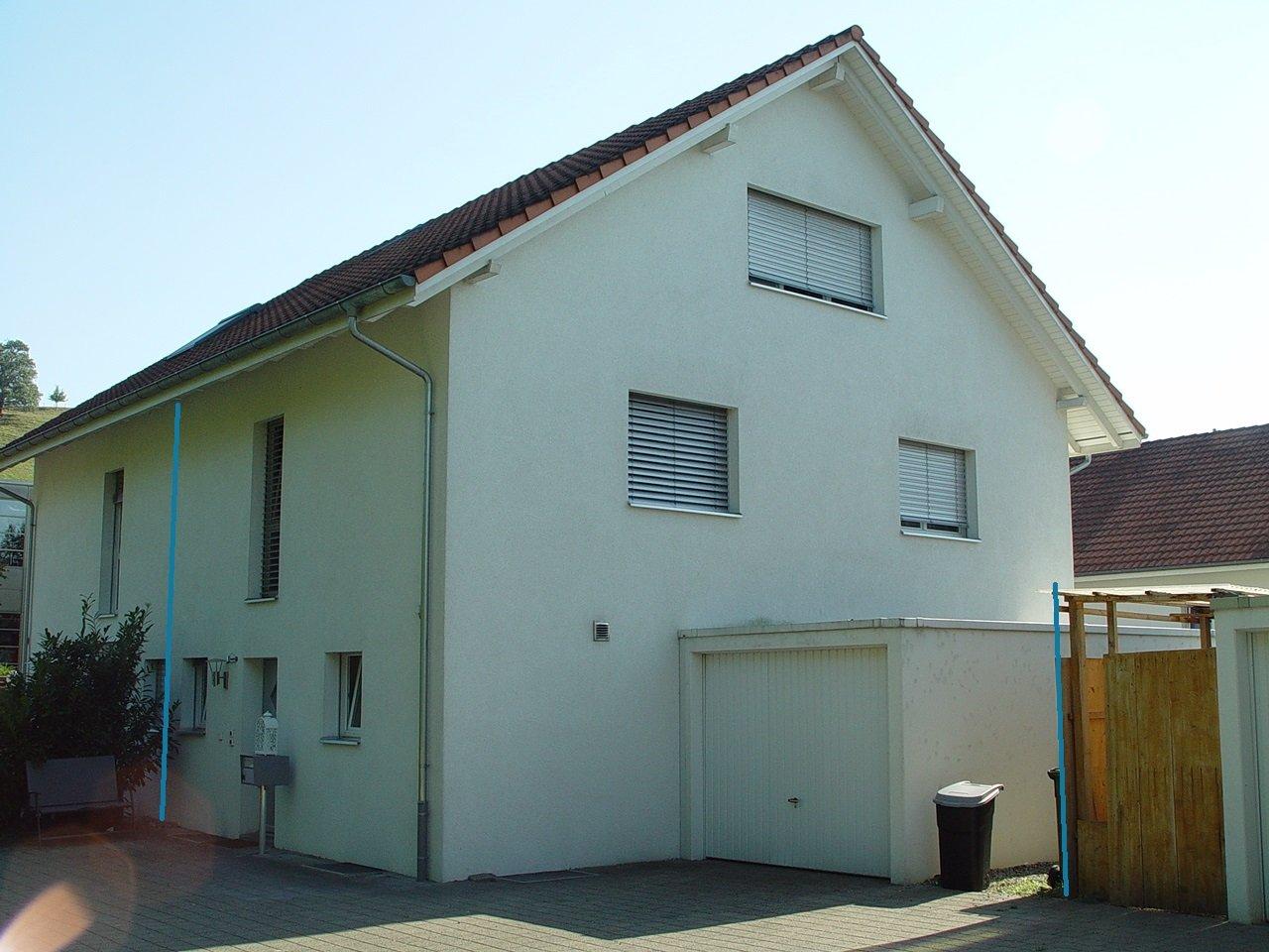 Zu verkaufen modernes doppel einfamilienhaus mit hohem ausbaustandard