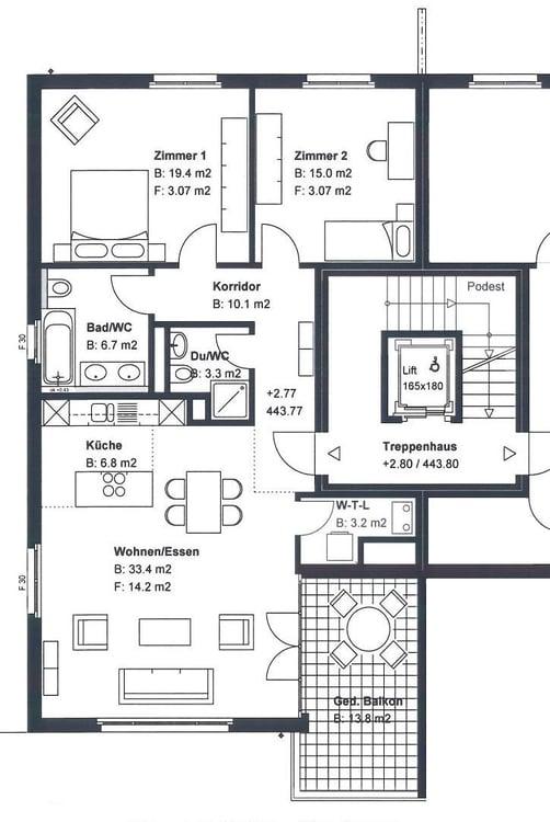Wohnung Mieten Wangen B Dubendorf Freie Mietwohnungen Homegate Ch