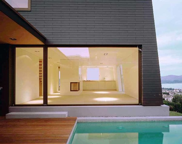 die lage zÄhlt: aussergewÖhnliche 5.5 zimmer architekturperle mit, Esszimmer dekoo