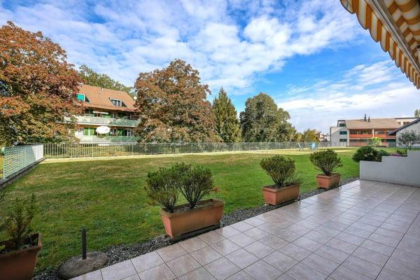 Charmant rez de jardin à Bernex, Bernex | acheter Appartement ...