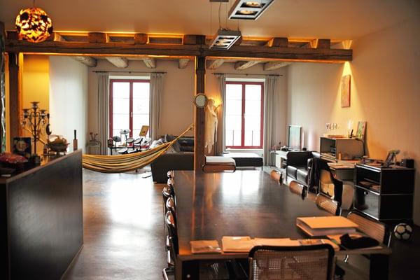 Ihr neues Traum-Loft mit separatem Atelier / Büro (Feuerstelle/Kamin ...
