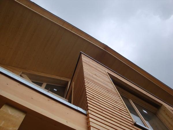 Projet des villas en bois par notre bureau darchitecte arzier le