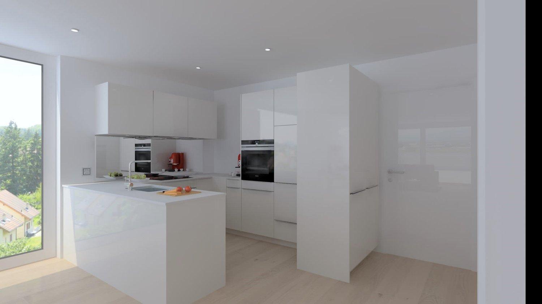 Moderne Neubau-Mietwohnung mit hohem Ausbaustandard