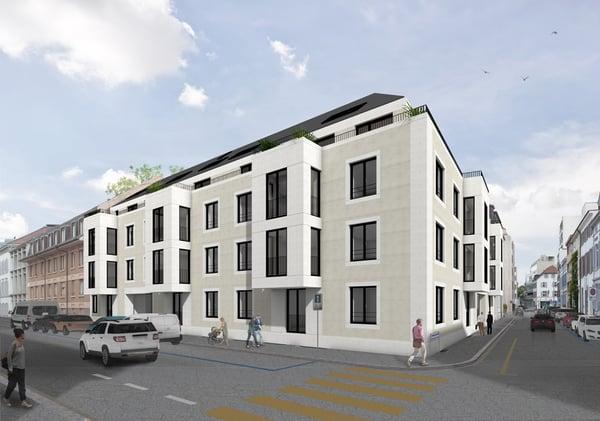 Elegante 4.5 Zimmer Geschosswohnung Mit Balkon, Nähe Stadtzentrum   W6