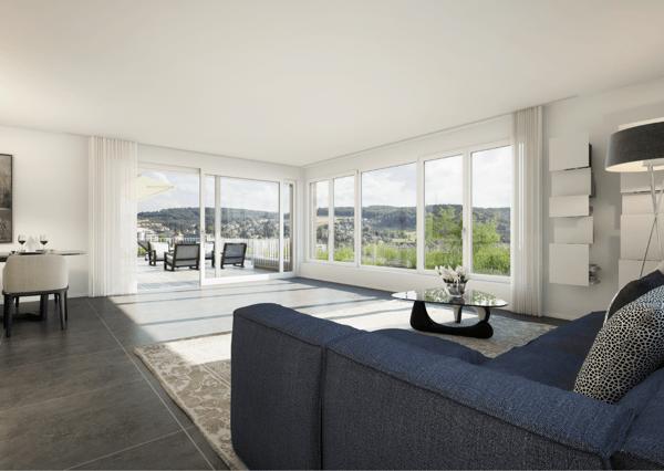 Wunderschöne 4½ Zimmer Terrassenwohnung An Bester Lage