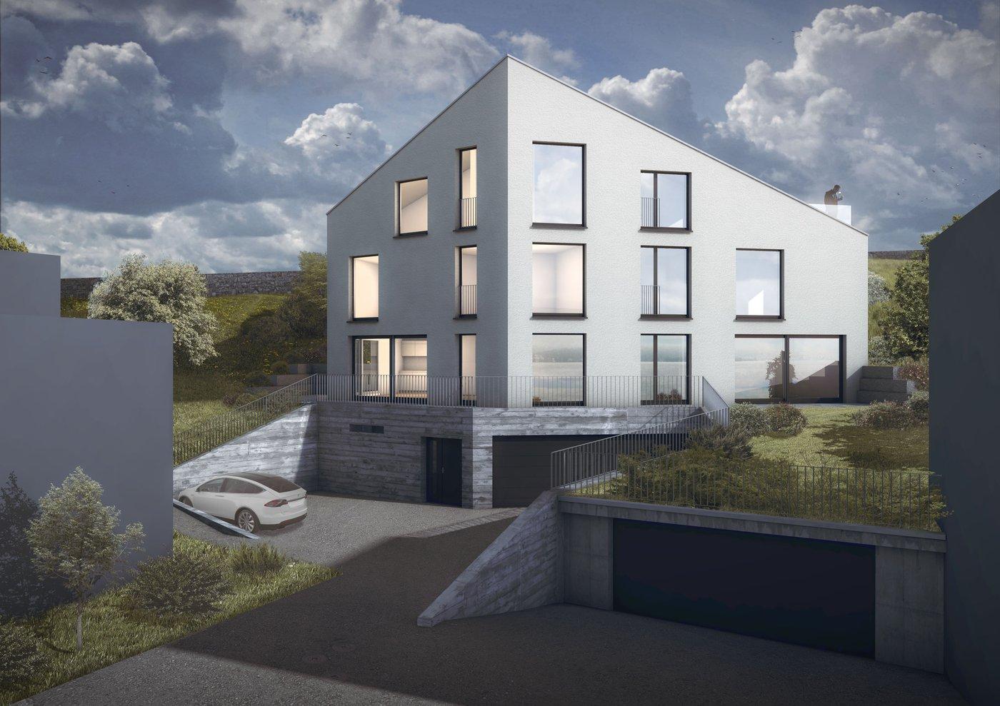 Modernes doppeleinfamilienhaus in 8713 uerikon zh