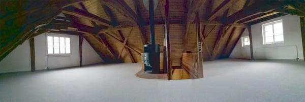 Aussenansicht Livingroom DG Essbereich ...