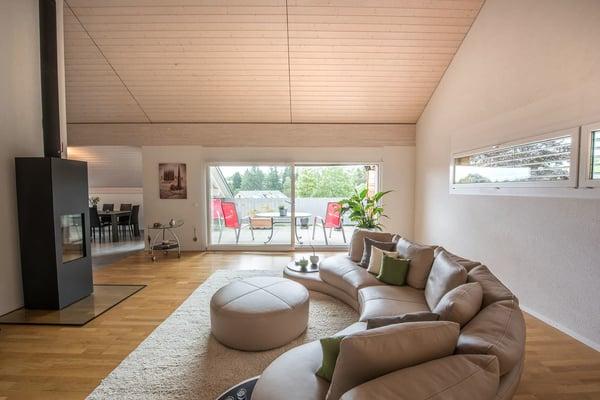 Magnifique appartement moderne et contemporain, St-Cergue   Wohnung ...