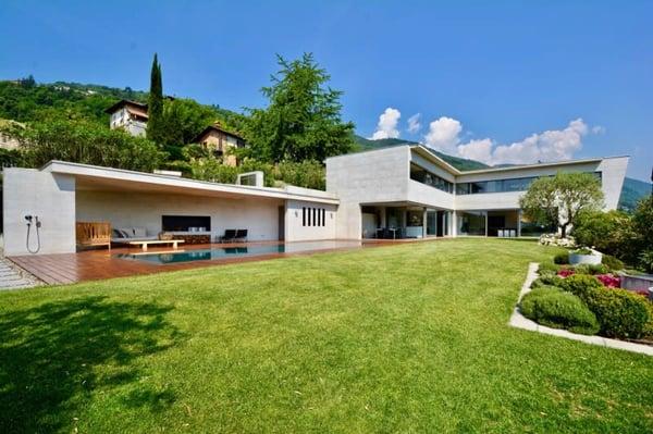 Moderne Luxus Villa In Agno Mit Blick Auf Den Luganer See