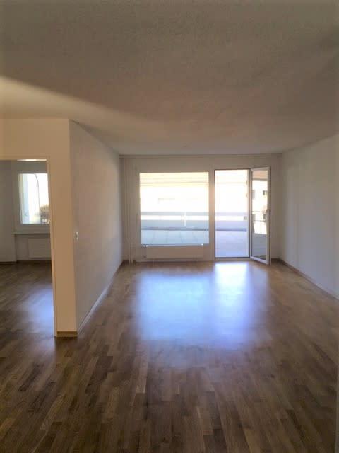 Miete: Wohnung mit grossem Balkon