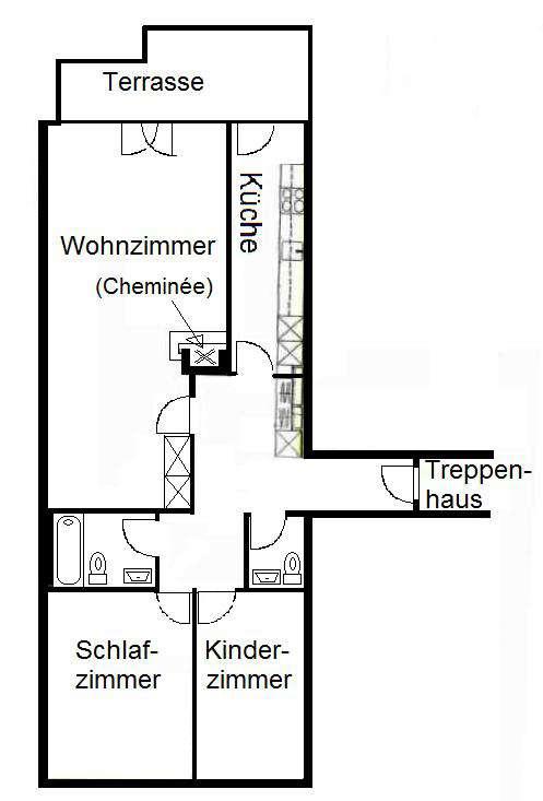 Schützengraben 7